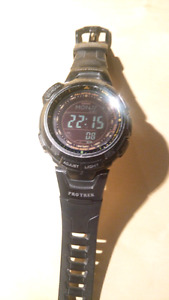 Casio Protrek -110Y Triple Sensor (used)