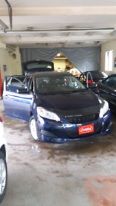 2010 Toyota Matrix Certified and Safety