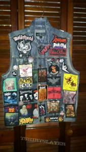 Looking for Heavy Metal vests and patches