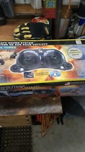New in the box ATV/UTV/Portable stereo