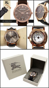 Burberry rose gold plated SAPPHIRE CRYSTAL self winding watch London Ontario image 2