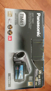 Panasonic HD Camcorder Brand new never been used. 16GB Build-in