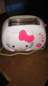 Hello Kitty toaster 20$ OBO