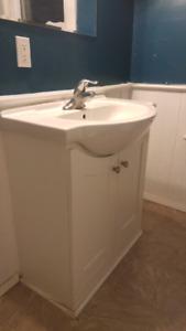 For sale used bathroom vanity