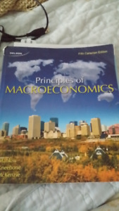 Macroeconomics fifth canadian edition kijiji in ontario buy principles of macroeconomics fifth canadian edition cw workbook fandeluxe Choice Image