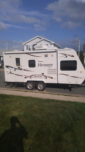 23' harmony travel trailer for rent