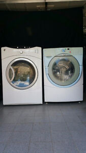 ENSEMBLE LAVEUSE FRONTALE WHIRLPOOL SECHEUSE GE