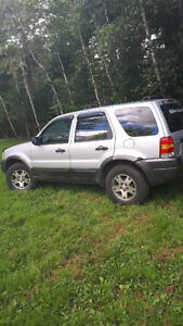2004 Ford Escape 4x4 Looking for something interesting to swap