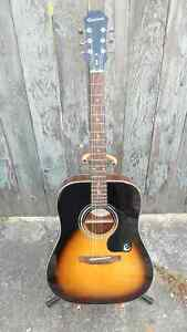 Gibson Epiphone DR Acoustic Guitar $240.