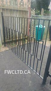 Pool fences, gates, fences, railings, posts, ramps