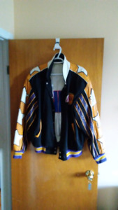 Authentic N.B.A. L.A Lakers reversible jacket