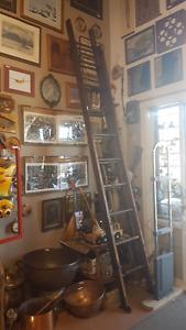 Antique wood ladder