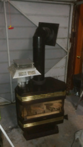Heat n Go natural gas fireplace