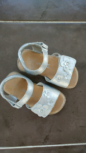 Silver toddler size 6