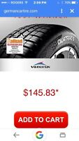 All weather tires 205/55/16