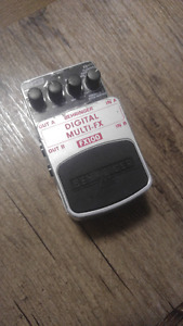 Behringer FX100 Digital MultiFX guitar pedal