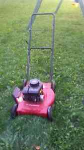 Old lawnmower for parts