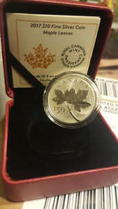 2017 $10 Fine Silver Coin 150th Anniversary of Canada: Sold out!