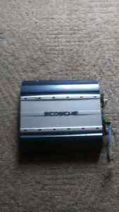 Scosche SA550 2-channel Bridgeable Car Amplifier 550W / 550 Watt Edmonton Edmonton Area image 1