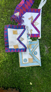 Authentic freemasons aprons