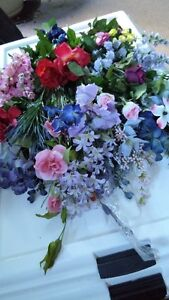 """Mixed Silk Flower Lots - 1st, B & C          """"  PRICE REDUCED  """""""