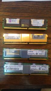 2 GB RAM ECC Memory 240 pin DDR2 5300