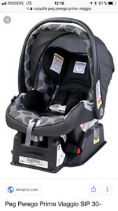 Coquille et base peg perego