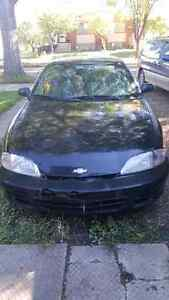 2000 chevrolet cavalier 2 door (manual engine)