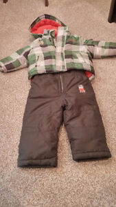 Awesome deal!  boys snowsuits/jackets 18 months - Carters