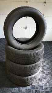 Michelin X-ICE3  - USED Winter TIRES 225/60/18 without rims