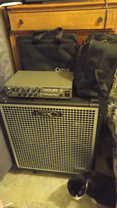 Carvin Bass Amplifier and GK Cabinet