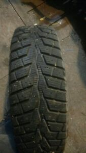 4 directional winter tires and rims 185/65/15
