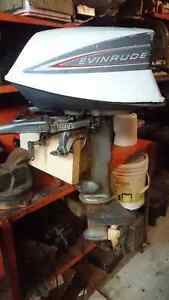 5.5hp evinrude outbord motor moteur hors-bord