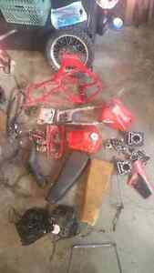 I have part for a dirt bike  xl250r 1984