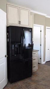 Réfrigérateur LG à 3 portes - congélateur en bas