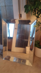 Large Bevelled Mirror - REDUCED!