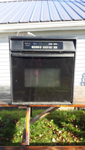 Whirlpool gas cook top and wall oven - near perfect condition!