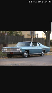 LOOKING FOR A 1968 FORD GALAXIE FASTBACK