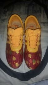 SIZE 6 LIMITED EDITION PRAJNA SILK ADIDAS TRAINERS IMMACULATE CONDITION