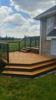 Experienced Contractor Specializing in Decks and Fences
