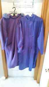 Purple Linda Lundstrom Coat Cambridge Kitchener Area image 2