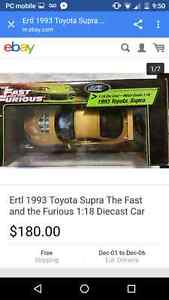 The fast and the furious model car Paul Walker St. John's Newfoundland image 2