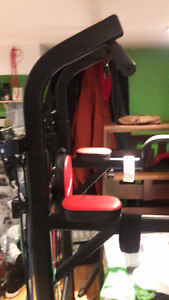 Power Tower: Adjustable angle bench press, adjustable height