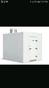 8x8x11 walk-in freezer