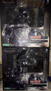 Batman arkham knight kotobukiya statue set