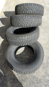 Used tires winter snow