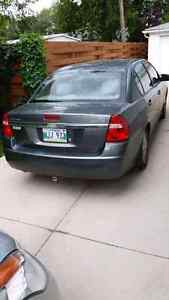Cars, chevrolet malibu 2004 grey with saftey. Runs good