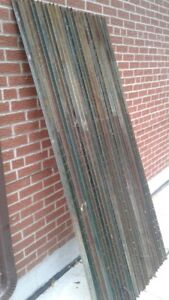 Metal Tree Stake T Bars Heavy Duty 7ft MUST SEE