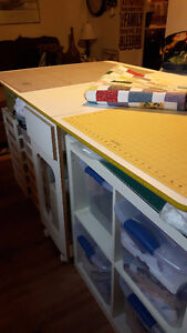 Sewing, Quilting, Cutting Table - Horn of America Belleville Belleville Area image 2