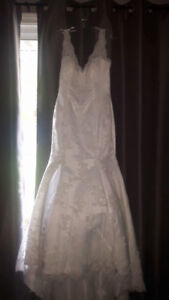 Ivory Couture Wedding Collection Dress - size 14